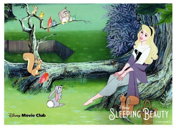 Sleeping Beauty Disney Movie Club Limited Edition Lithograph