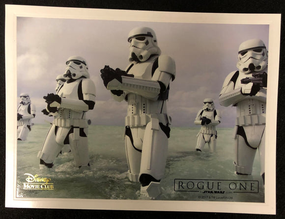 Rogue One Disney Movie Club Limited Editon Lithograph