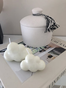 Cloudy Set Candle
