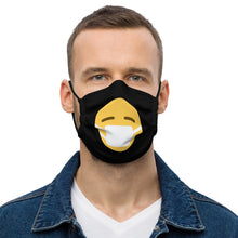 Load image into Gallery viewer, Masked Emoji Premium face mask