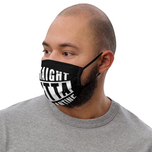 Straight Outta Quarantine Premium face mask