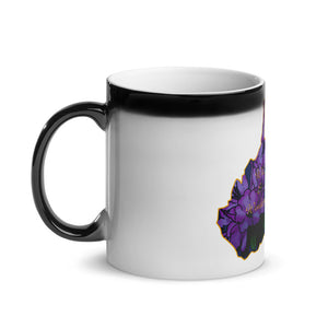 West Virginia Rhododendron Glossy Magic Mug