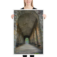 Load image into Gallery viewer, Stone Hallway Framed poster