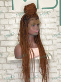 Coumba (full lace braided wig)