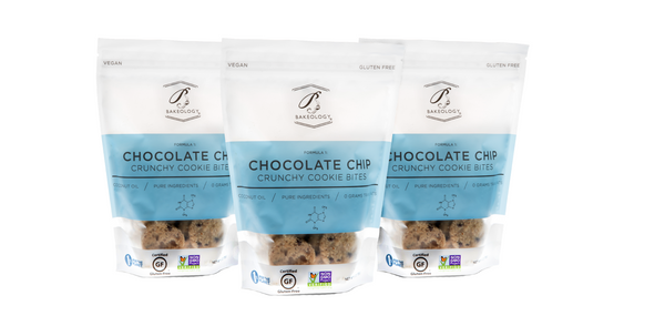 Chocolate Chip Cookie Bites, 3-pack - Bakeology