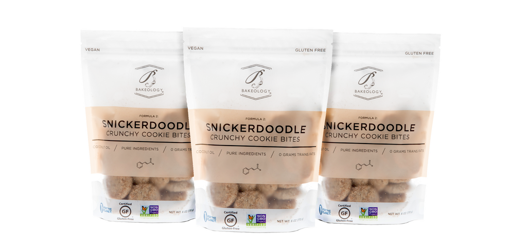 Snickerdoodle Cookie Bites, 3-pack - Bakeology