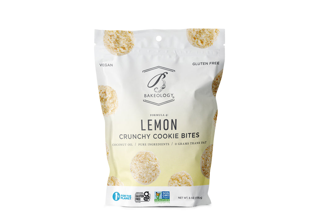 3 pack- Lemon Cookie Bites, 6 oz bags