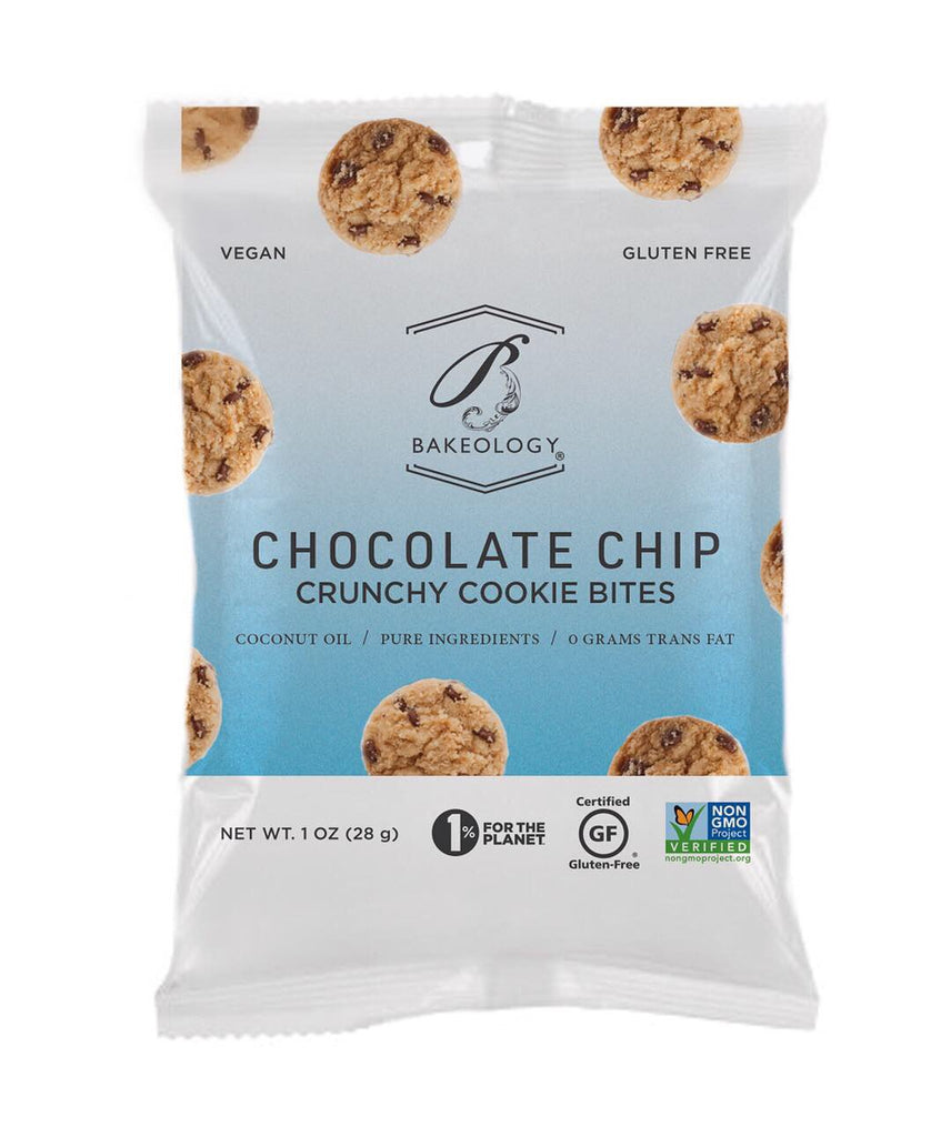 1 oz bags-6 pack-Chocolate Chip Cookie Bites