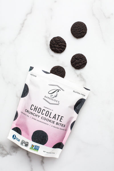 3 pack- NEW Chocolate Cookie Bites, 6 oz bags