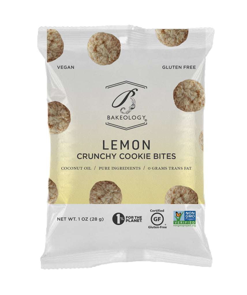 6 pack-Lemon Cookie Bites, 1 oz bags