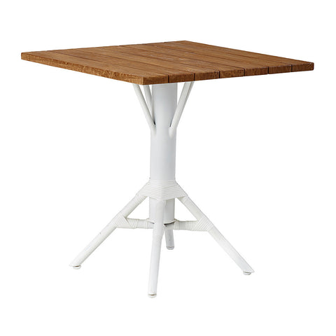 Teak Square Tabletop 70cm for Nicole Cafe Table