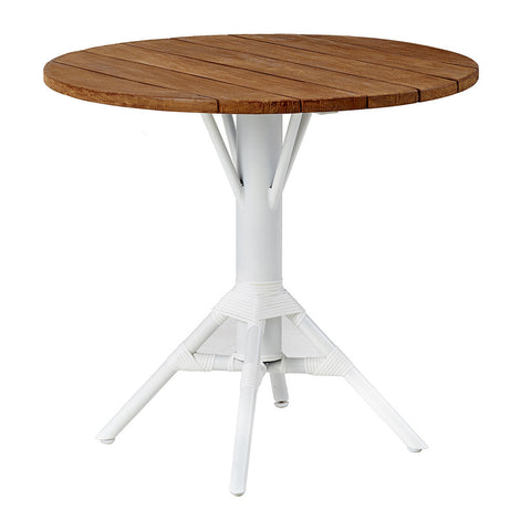 Teak Round Tabletop 80cm for Nicole Cafe Table
