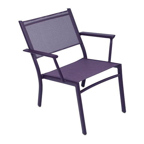 Fermob Costa Low Stacking Armchair, Set of 2