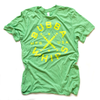 Kelly Green Heather Bubba Whips Tee