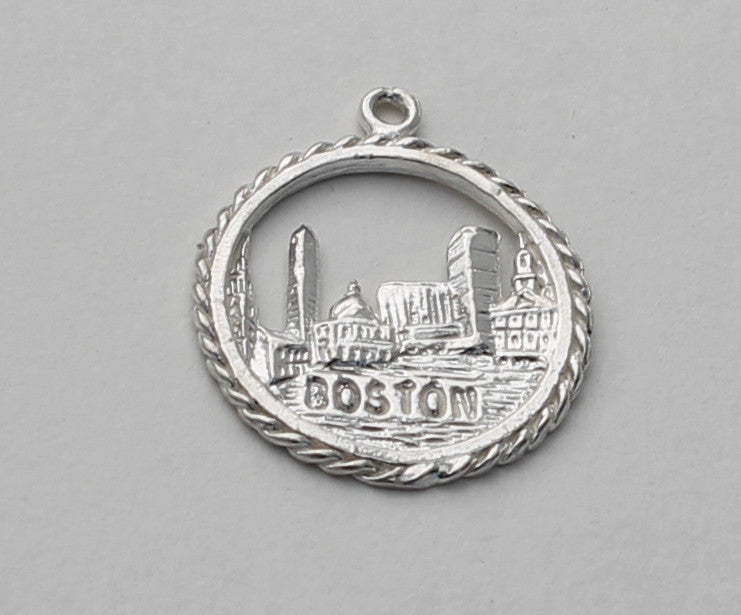 Boston charm/pendant