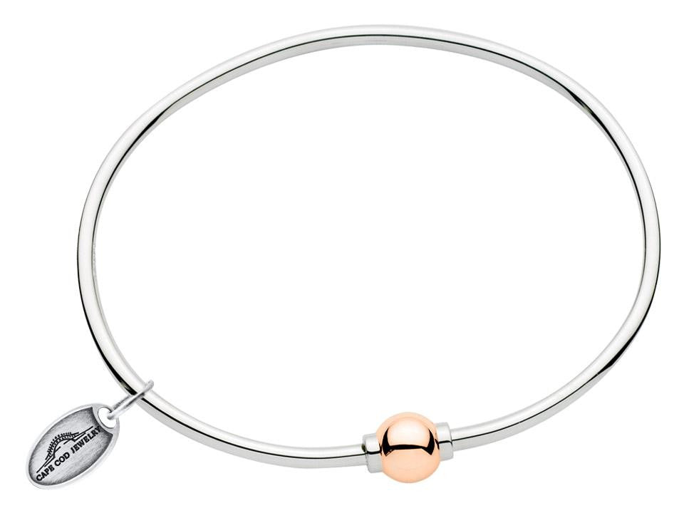 LeStage Cape Cod ss with rose gold bracelet