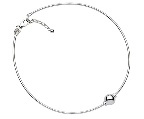 SS Cape Cod anklet - Snake chain