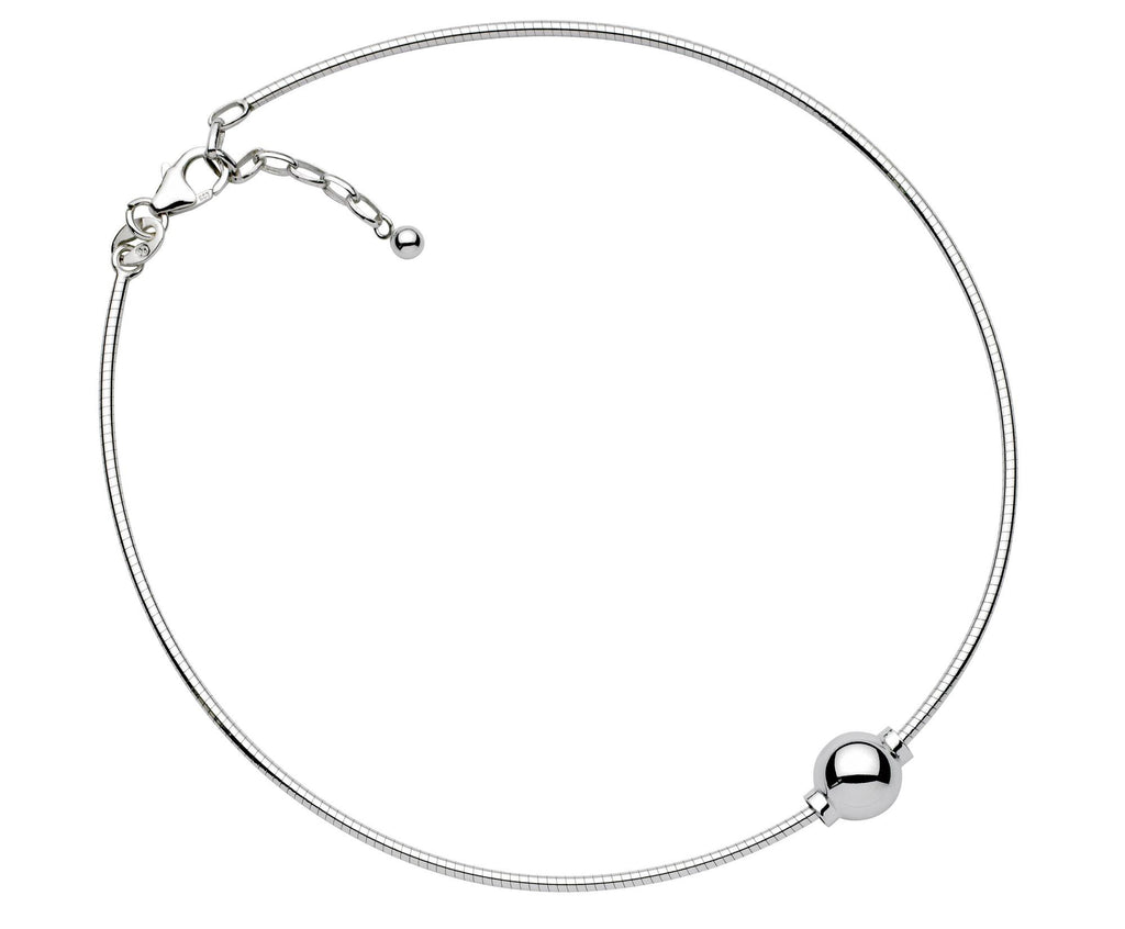 SS Cape Cod anklet - Omega chain