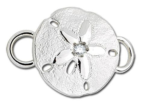 LeStage Sand Dollar with Diamond Clasp