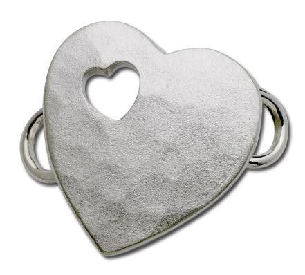 LeStage Pierced Heart Clasp