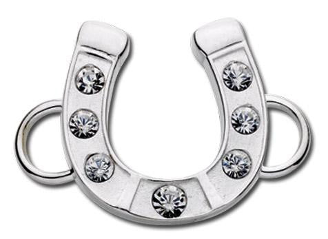 LeStage Horseshoe with crystals clasp