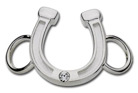 LeStage Horseshoe with crystal clasp