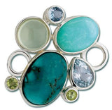 LeStage Rock Garden Turquoise Clasp