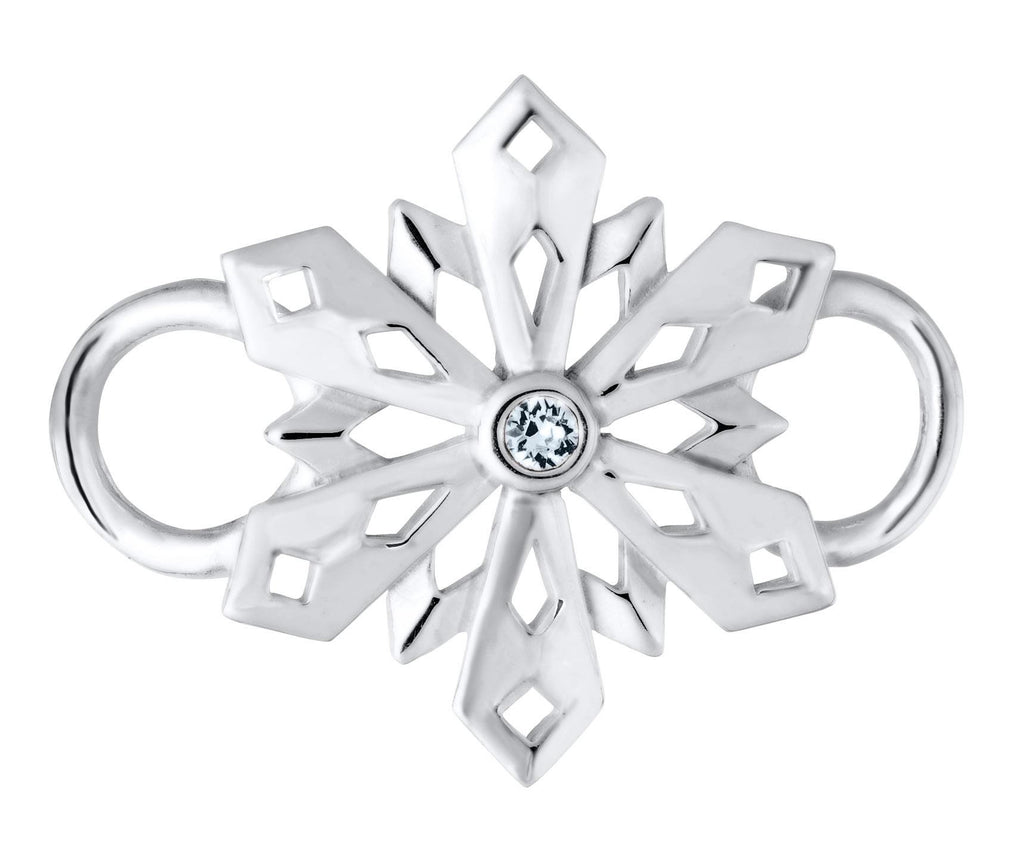 LeStage Pierced snowflake clasp
