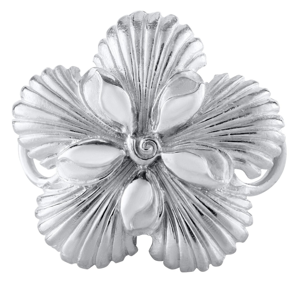 LeStage Sea shell flower clasp