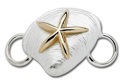 LeStage Starfish on Clam Clasp