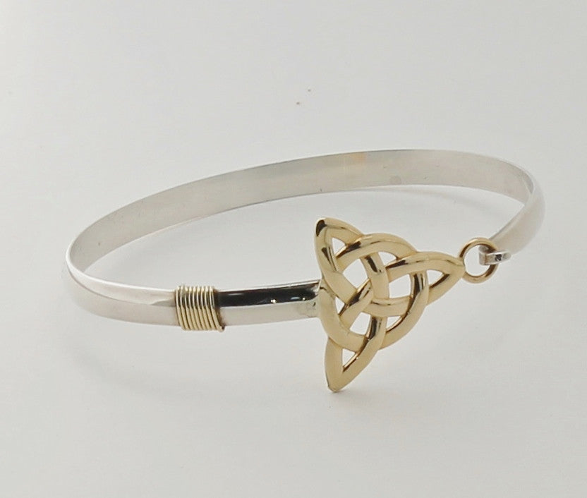 Triangular Celtic Knot bracelet