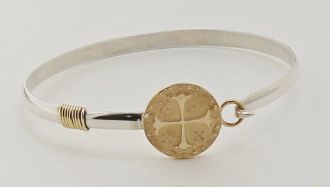 Ancient Cross Coin Bracelet