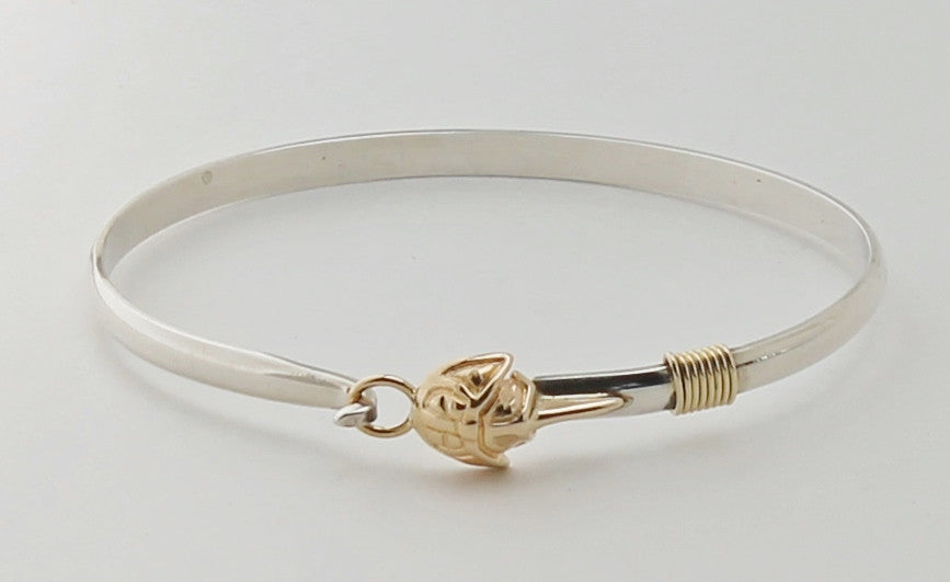 Horseshoe Crab hook bracelet