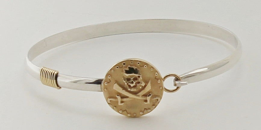 Pirate Coin hook bracelet