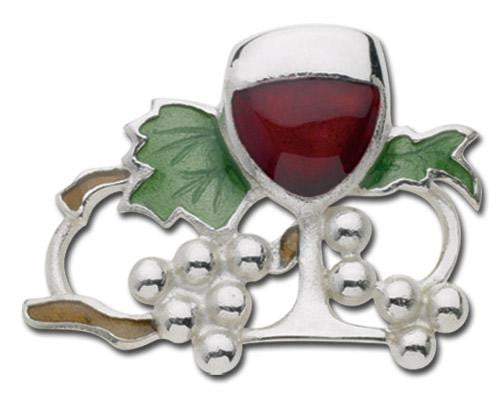 LeStage Wine and Grapes Clasp