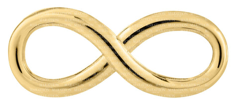LeStage 14K Simple Infinity Clasp