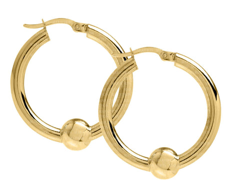 Cape Cod 14K 26mm hoop earrings