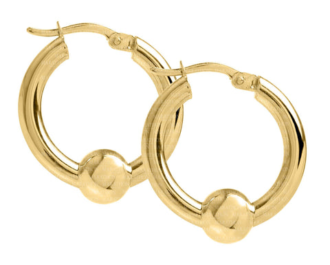 Cape Cod 14K 20mm hoop earrings