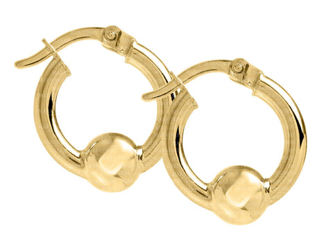 Cape Cod 14K 15mm hoop earrings