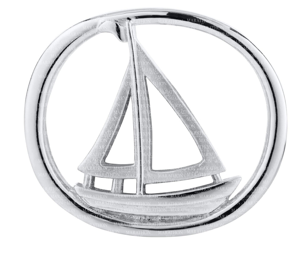LeStage Racing Sailboat Clasp