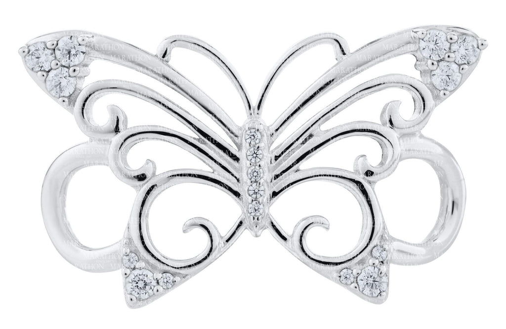 LeStage Pierced Butterfly Clasp