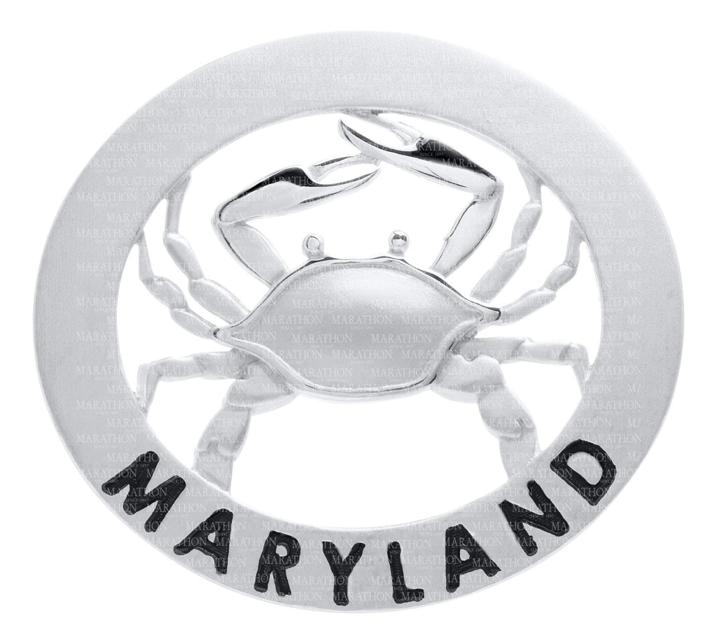 LeStage Oval Frame with Crab - Maryland