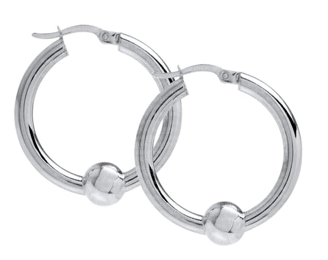 Cape Cod SS hoop earrings