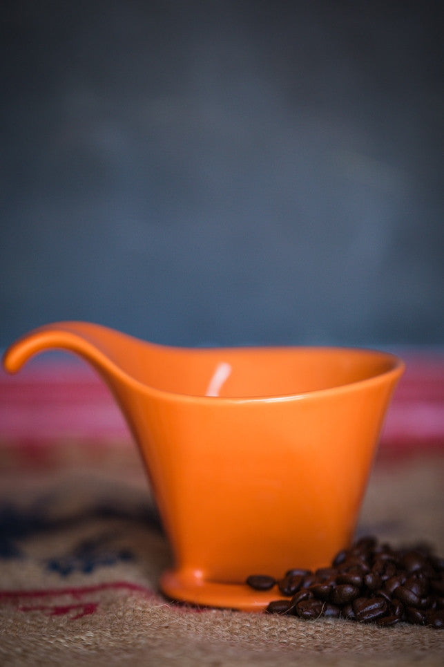 Bee House Ceramic Dripper (large) Tangerine