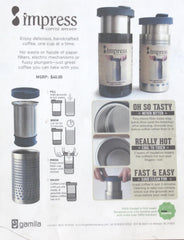 Bobble Coffee Press/Travel Mug