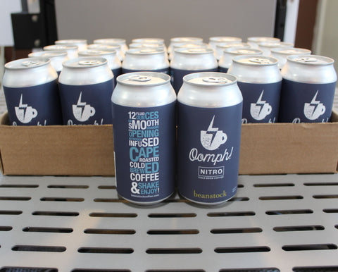 Oomph! Nitro Cold Brew 12 oz. Cans