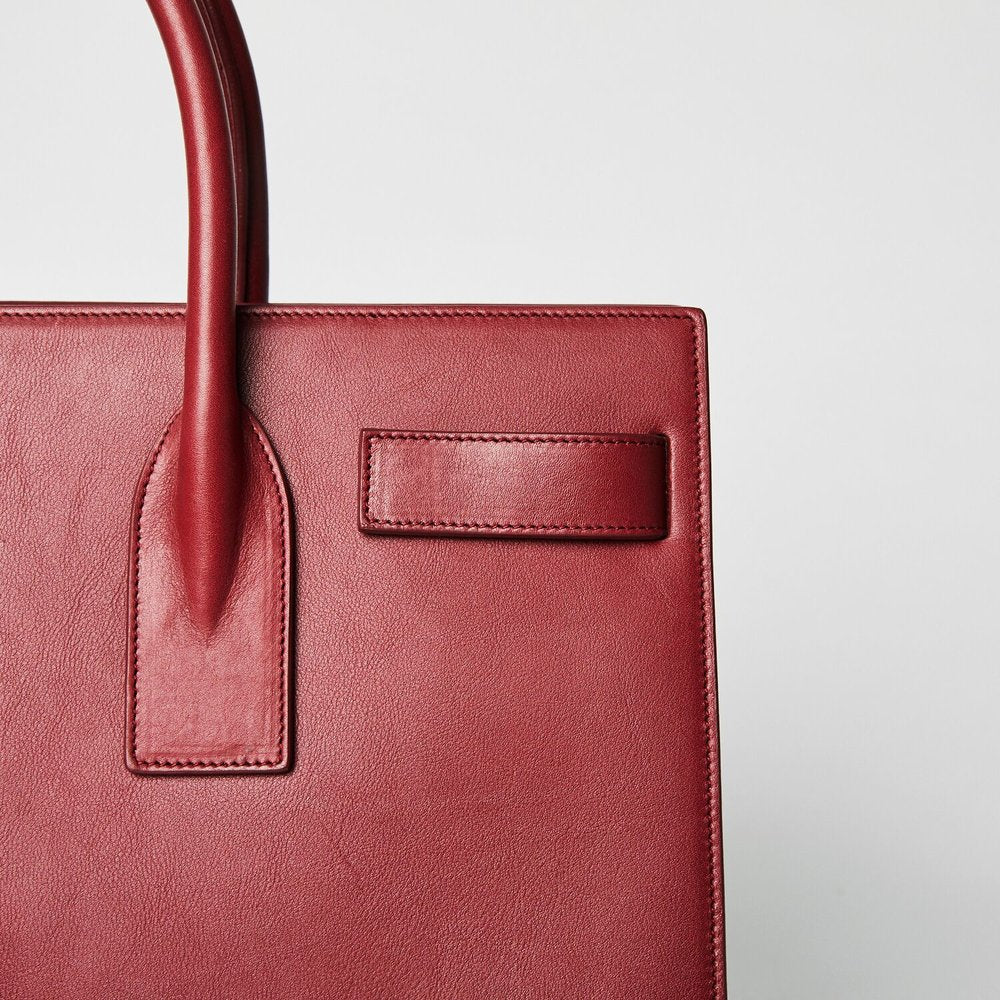 SAINT LAURENT Sac De Jour Red