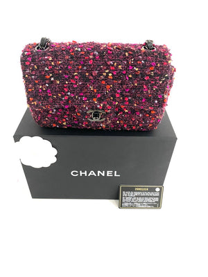 Load image into Gallery viewer, CHANEL Tweed Flap Bag