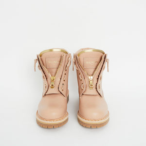 Load image into Gallery viewer, BALMAIN Taiga Leather Military Boots 36