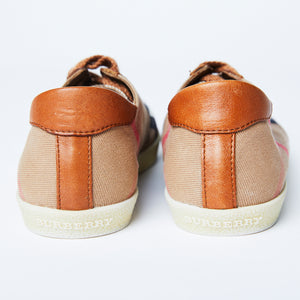 BURBERRY Heartfield Low Top Sneaker Sz 37
